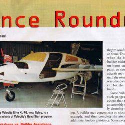 Magazine: Kitplanes August 2001 – Builder's Assistance