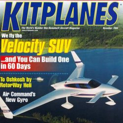 Magazine: Kitplanes November 2000 – SUV