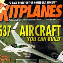 Magazine: Kitplanes December 1995 – Directory Issue – 173 Elite