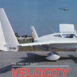 Magazine: Sport Aviation July 1987 Neil Hunter – First Kit Velocity
