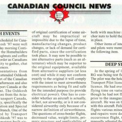 Magazine: Sport Aviation November 1997 – Canadian Deep Stall