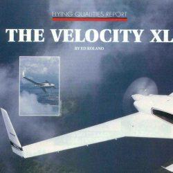 Magazine: Sport Aviation January 1998 – Velocity XL Launch