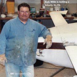 Magazine: Sport Aviation December 2006 – Millin Builder's Moments