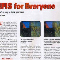 Magazine: Kitplanes August 2001 – Blue Mountain Avionics EFIS for Everyone