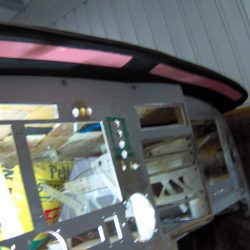 Upholstered Glare Shield