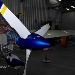 MT Propeller installed