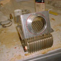 Firewall Mounted Oil Cooler