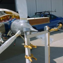 Mounting Catto Propeller