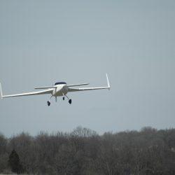 Second Flight of N44VF