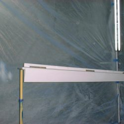 Clear Coating Control Surfaces