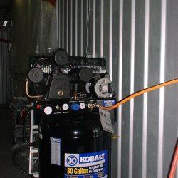 Installing a High-Flow Air Compressor into the Hangar
