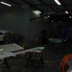 Preparing the New Hangar with Lighting