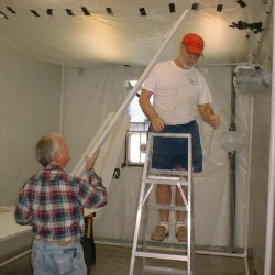 Constructing the Paint Booth