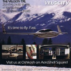 2008 Kitplanes Velocity Ad – It's time to fly.  Fast.