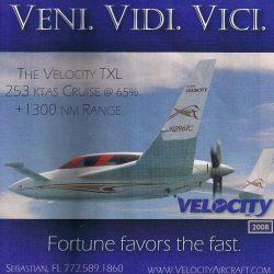 2008 Velocity Ad – Veni Vidi Vici – Fortune favors the fast