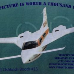 2014 Kitplanes Velocity Ad – A Picture is Worth a Thousand Words