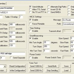 Configuring a Micro-Trak for Airborne Use (APRS)